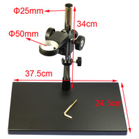 Portable Manual Focus Digital Microscope Holder, USB Microscope Stand,suitable for 38mm 34mm diameter microscope
