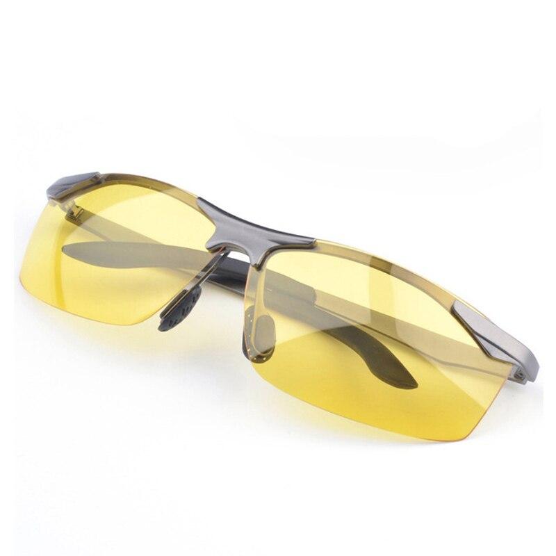 AORON Marca Night Vision Occhiali Da Sole Polarizzati Uomini Di Lusso  Disegno Anti riflesso Occhiali UV400 Lente Gialla Occhiali Occhiali di Moda  in AORON ... 4ad9026a20