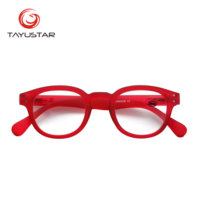 804d7c248a8c Reading Glasses Frame With Case Adult Glasses Oval Style Men Women  Power+1.0-3.00 RED Eyeglasses Gafas Lunettes De Lecture 1513