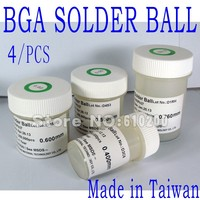 Free Shipping 4 Pcs Set High Quality BGA Solder Ball 0 45 0 5 0 6