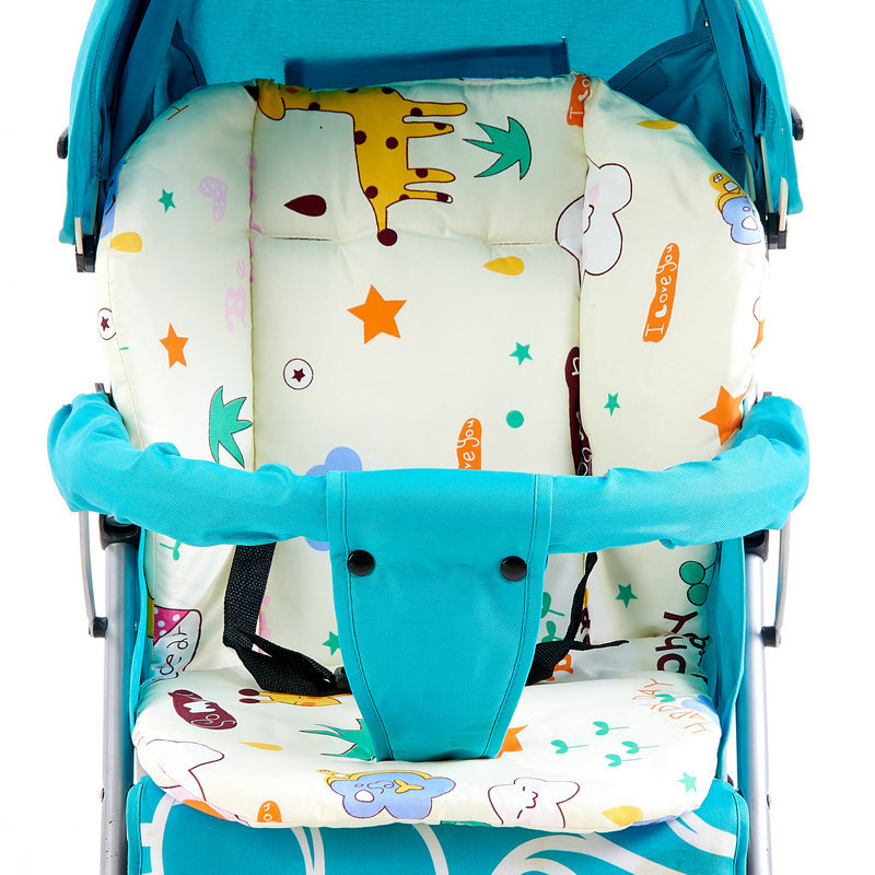 kidadndy Cartoon Cart Mat Baby Stroller Baby Buggy Umbrella Car Chair To Keep Warm Thicken cotton baby car seat cushion TCL19006