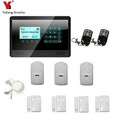 YobangSecurity Touch Screen Wireless GSM Auto Dial House Alarm - Ultimate Solar Solution eureka hex screen house