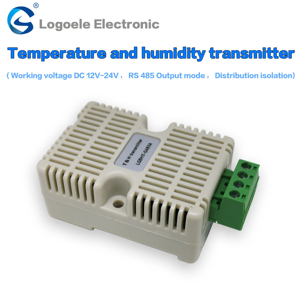 Temperature and humidity detection sensor RS485 0-5V 0-10V 4-20mA signal output SHT10  transmitter signal isolation high quantity medicine detection type blood and marrow test slides