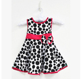 Free Shipping The new large circle bow burst models summer paragraph princess dress girls cloth  dress for summer