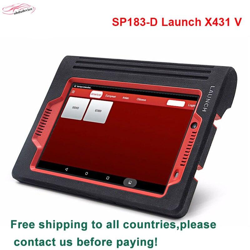2018 produkteinführung x431 v erweiterte diagnose-multi-autos werkzeug launch x-431 pro wifi/bluetooth ersetzen diagun3 DHL freies