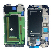 100pcs Lot Original Front LCD Front Housing Frame Bezel Plate Middle Frame For Galaxy S5 G900F