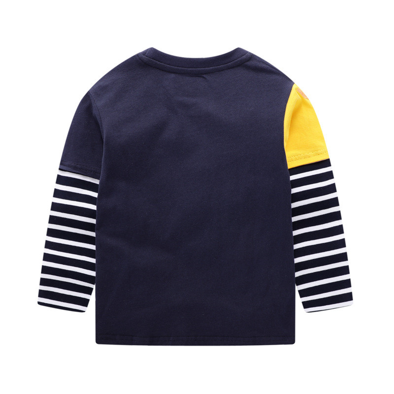 Jumping meters Brand Boys T shirts Baby Clothes Cotton Long Sleeve Tees Cartoon New Cute Boys Girls T shirts Autumn Clothing