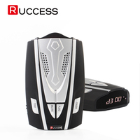 RUCCESS Radar Detectors Antiradar Car Radar Detector GPS For Russia X K KA Laser CT Strelka