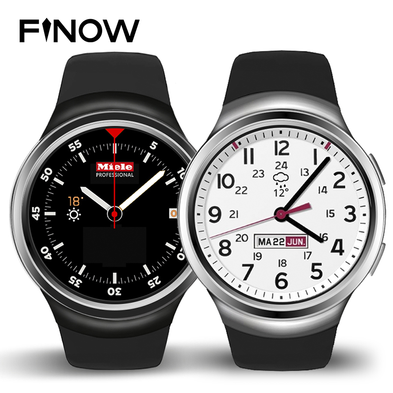 New Finow X3 Smart Watch Android OS Ram512MB and Rom4GB Support GPS Bluetooth 3G Sim Card for Android&IOS PK LES2 Watch Phone цена