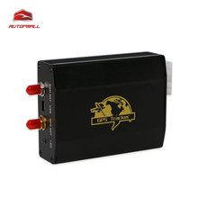 Car GPS Tracker TK103-2 Vehiclce Tracking Device Support Two GSM Card 1200MAh Battery Life Time Free Web Tracking Software