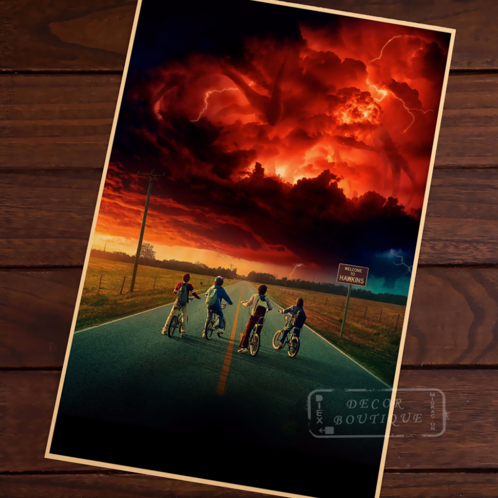 Season 2 sci fi stranger things montauk horror retro for Sci fi home decor