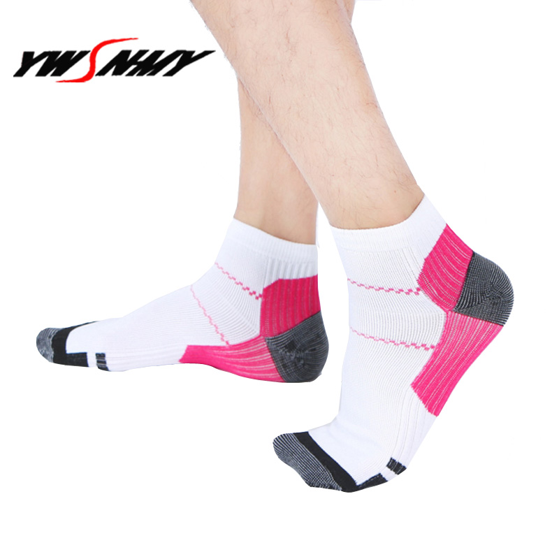 1Pair Men Women Compression Socks Plantar Fasciitis Socks Anti-Fatigue Massage Medical Ankle Foot Sock Unisex Breathable Socks