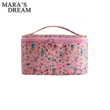 Mara's Dream Woman Cosmetic Bags Flower Pattern Organizer Ma