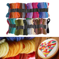 150 Colors Embroidery Thread Polyester Hand Cross Stitch Floss Sewing Skeins Craft