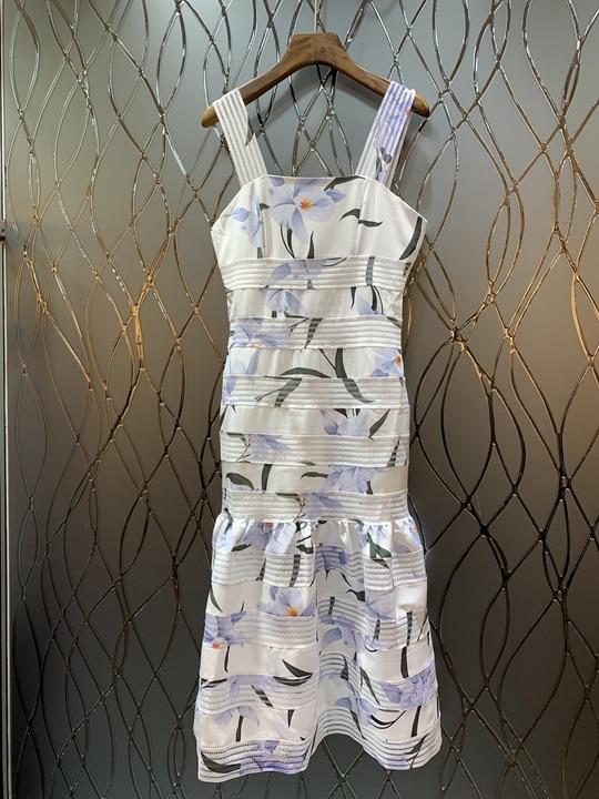 États Nouvelle Impression Gâteau 2019 Motif Dress0226 Couche Décoratif Hors épaule Été Rayé Blanc la Printemps Europeunited De Femmes vtvOfIqxw