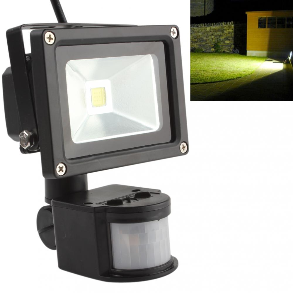 High Light LED Sensor 20W IP65 PIR Infrarød Body Bevægelses Sensor LED Flood Light Vandtæt Udendørs Landskab Lampe Have Light