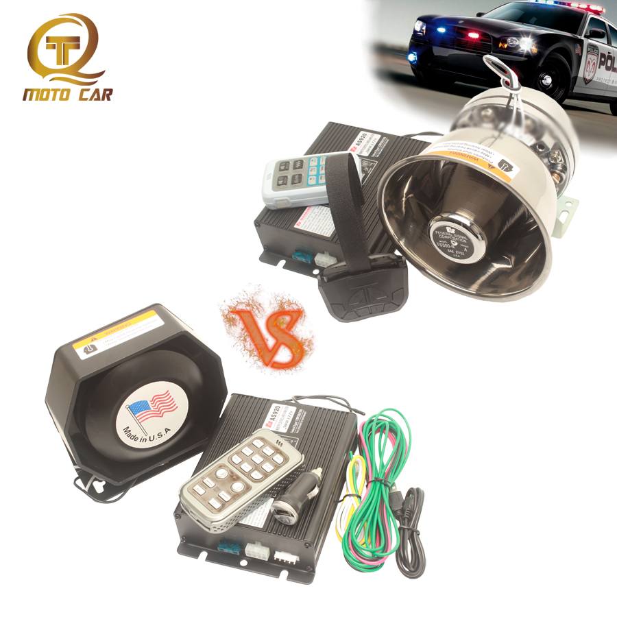 Car Train Electr Horn Amplifier Loudspeaker Alarm Waring Police Siren 12 Sound Megaphone Wireless Control Speaker
