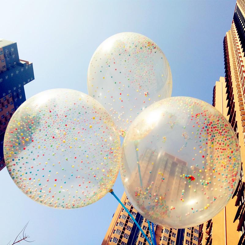 50 unidslote 12 pulgadas globos transparentes magia globos de ltex perla globos de fiesta