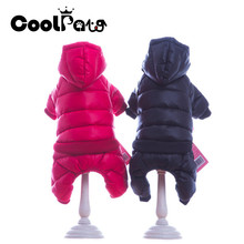 2018 New Warm Dog Clothes Pet Jumpsuit Thicken Hoodie Coat Jacket Puppy for Dogs