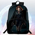 2016 New 16 inch Prints Hero Black Widow School Bags Avengers Students Mochila Kid Bag Child Backpacks Boys School Backpack