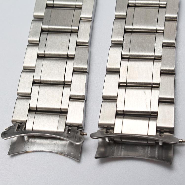 Nyt metalurbånd buede ender sølv & rosegold guldfarve modeur - Tilbehør til ure - Foto 4