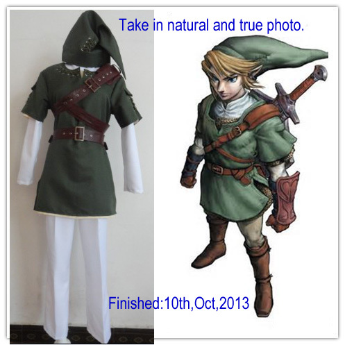 New Arrive The Legend of Zelda Zelda Link Cosplay Costume for Adults and & Free shipping! New Arrive The Legend of Zelda Zelda Link Cosplay ...