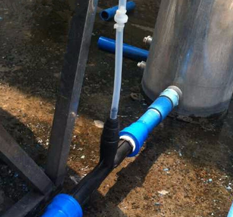 PVDF Материал Вентури инжектор 2 дюймов для озона смешивания, Вентури для воды и смешивания газов, генератор озона смешивания газов части