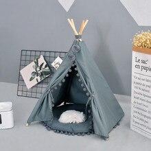 Креативная собака кошка палатка кровать съемный уютный дом для щенка собаки кошки маленькие животные Домашние товары для домашних животных складные ПЭТ палатки