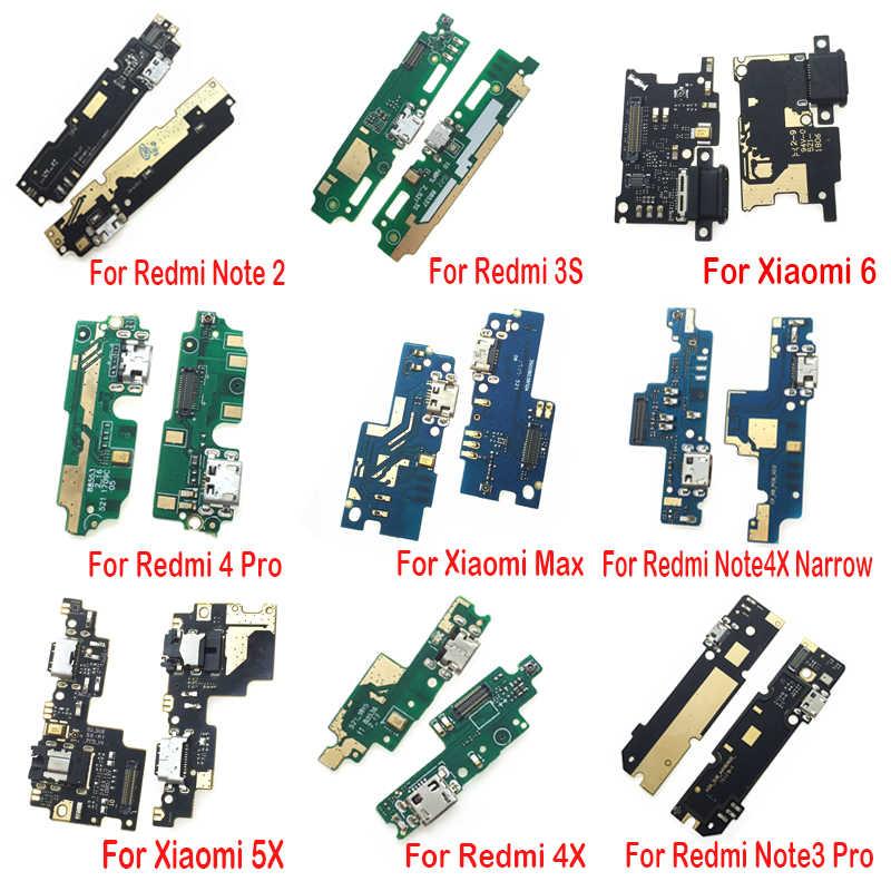موصل هيكلي USB شحن شاحن ميناء الكابلات المرنة مجلس ل شياو mi mi ماكس mi x 2 2S 3 6 5X A2 لايت 6X mi 5S mi 6 F1 8 Se mi 8 لايت