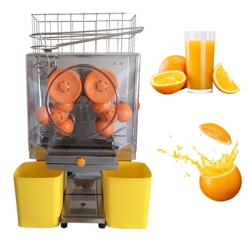 110v 220v stainless steel electric citrus juicing machine orange juicer lemon juice press squeezer extractor machine