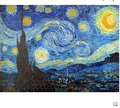 2015 new style Genuine wood Star Van Gogh HD Free Jigsaw Puzzles 500 plastic shipping math education toys kids gift brinquedos