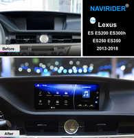 NAVIRIDER Android 7.1 Car multimedia GPS Audio Radio Stereo For Lexus ES ES200 ES300h ES250 ES350 2013-2018 head unit recorder