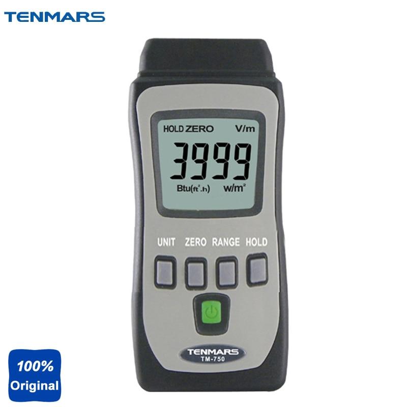 TM-750 Maximum Reading of 3999 Measuring Solar Power Meter,Solar Radiation Measurement tm 750 mini pocket solar power meter