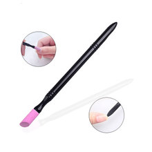 ATOMUS Professional Nail Stick Manicure Nail Polishing Stick Pedicure Cuticle Pusher Care Tool Washable Rose&Pink Color pink plastic useful nail cuticle pusher stick spoon for sticker manicure accessory salon care tools nc370x5