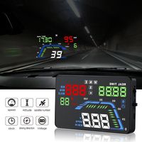 Universal Car GPS HUD Q7 GPS Speedometer Car Electronics Q700 OBD Head Up Display Projector Velocimetro Digital Free Shipping