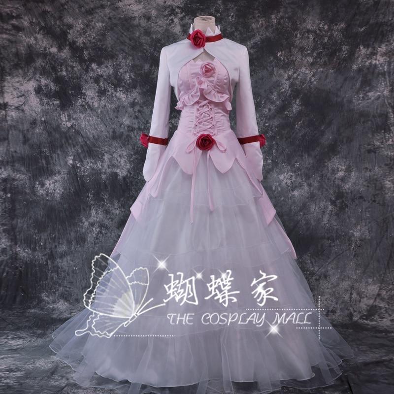 New Anime Code Gaess euphemia Pink dress halloween costume Party dress cosplay costumes
