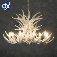 Antler Lamp In Pendant Chandelier 4 6 9 Arms Optional E14 Antler Chandelier Socket Chandelier Living