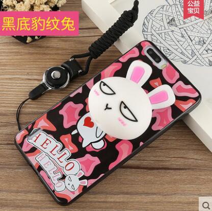 Phone Cases for huawei honor 6 plus 3D Cute Cartoon Ice Cream Soft TPU Silicone Back