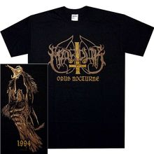 Marduk Opus Nocturne Shirt M L Xl Black Metal Official T Shirt Tshirt New
