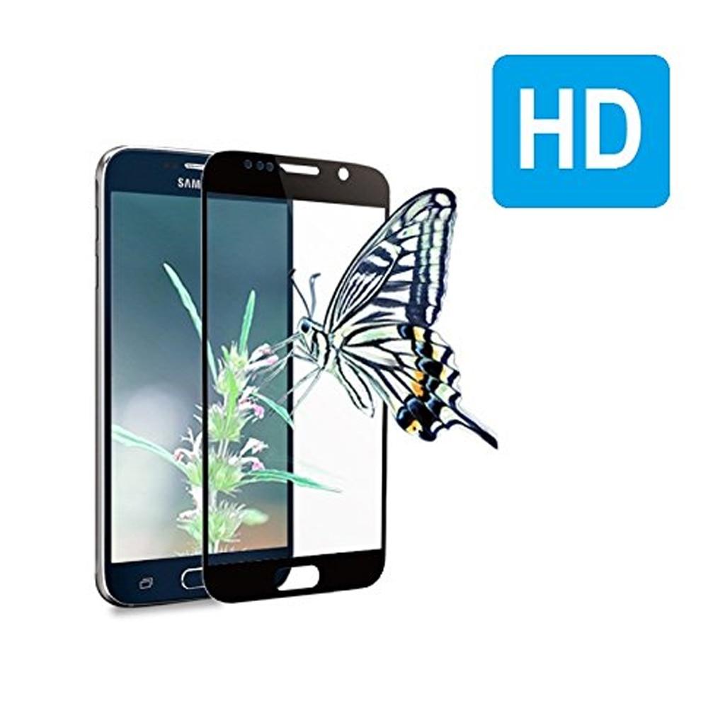 0.26MM 2.5D gücləndirilmiş ekranlı çap Samsung Galaxy S7 S6 S5 - Cib telefonu aksesuarları və hissələri - Fotoqrafiya 4