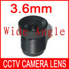 Free shipping fasion limited cctv len lens 3.6mm 6mm 8mm security f1.2 lenses wide angle camera