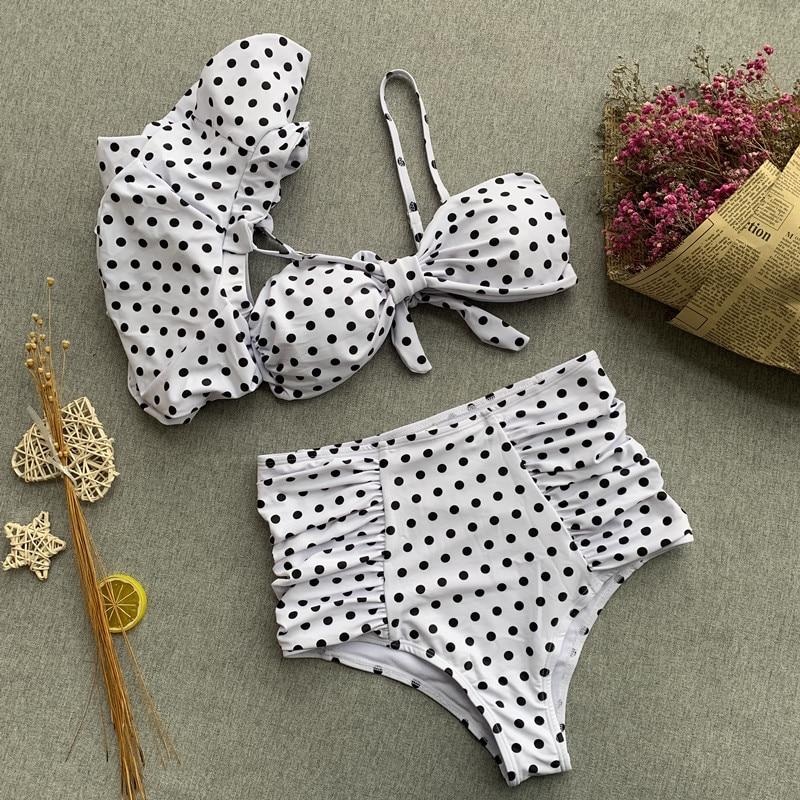 Women Swimsuits High Waist String Bikinis Brazilian Swimsuit Bikini 2018 Dropshipping New Hot Selling Swimsuit Cover Up in Bikinis Set from Sports Entertainment