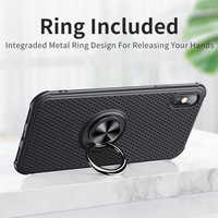 soft tpu Msvii Breath Magnetic Holder For iPhone XS MAX Case Soft TPU Finger Ring Cover For iPhone X 7 8 6 Plus Coque For iPhone XR (1)