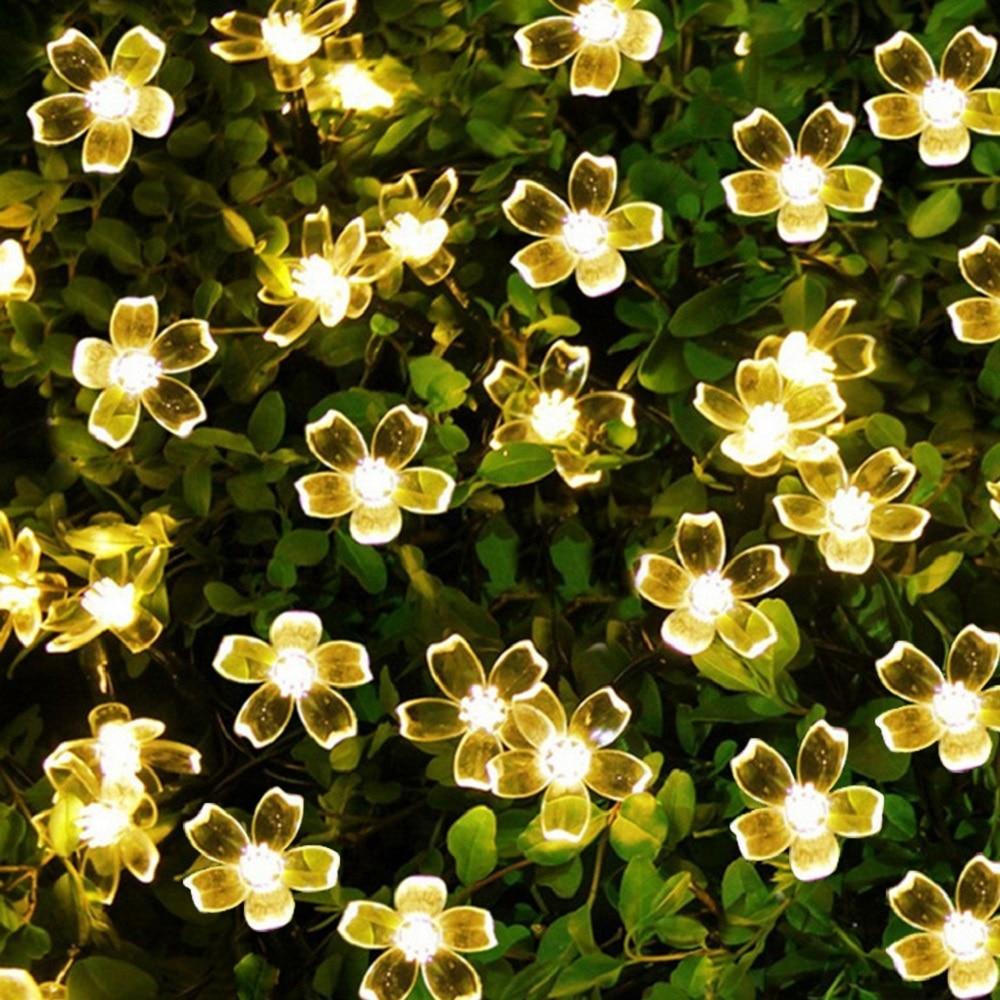 7M 50 Led Solar String Light For Garden Decoration Home Christmas/Party Flower USB Led Fairy Light Solar Lamp Outdoor Waterproof