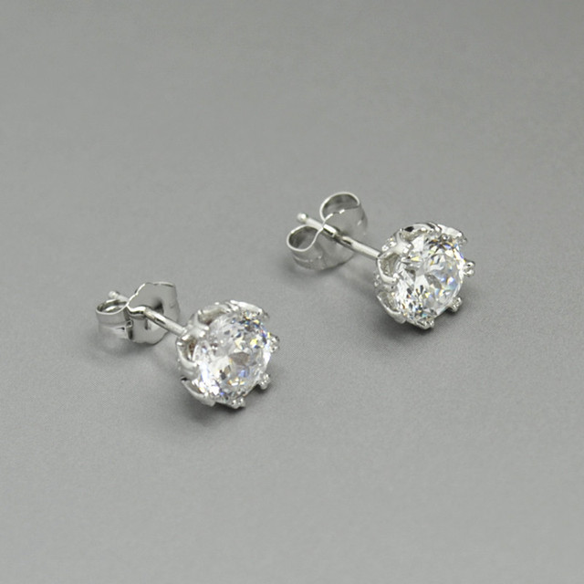 8bc34f575 QVC TACORI Epiphany DIAMONIQUE 2.35ct Bloom Round Shape Studs Earrings