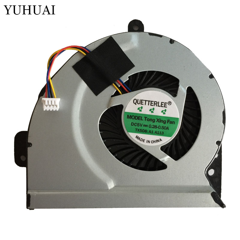 New Cpu Cooling Fan For ASUS K53E K53S K53SC K53SD K53SJ K53SK K53SM K53SV K84 Brushless Cpu Cooler Radiators Laptop laptop cpu cooler fan for inspiron dell 17r 5720 7720 3760 5720 turbo ins17td 2728 fan