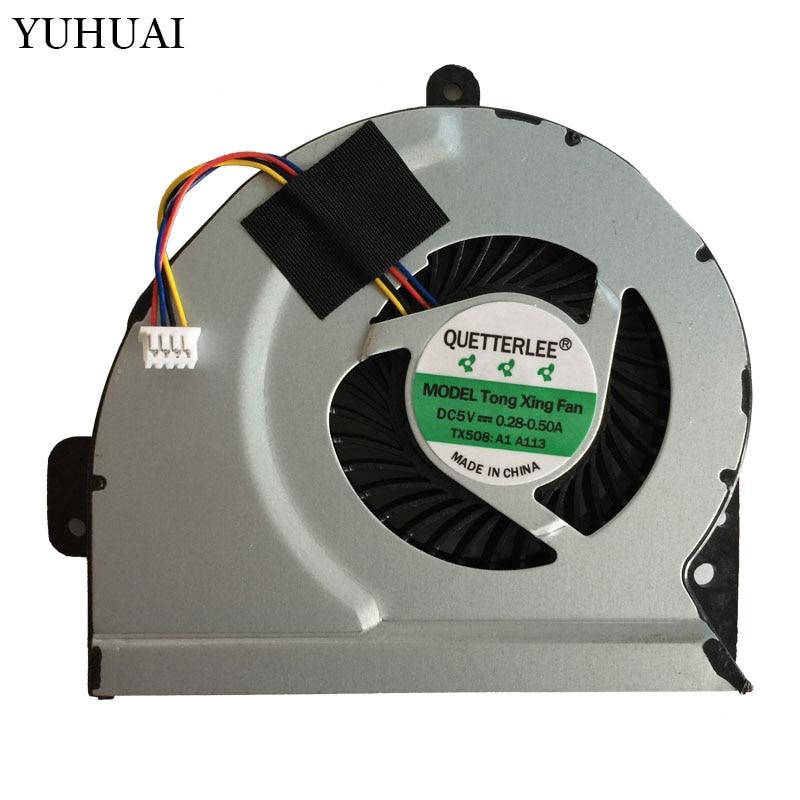 купить New Cpu Cooling Fan For ASUS K53E K53S K53SC K53SD K53SJ K53SK K53SM K53SV K84 Brushless Cpu Cooler Radiators Laptop по цене 338.63 рублей