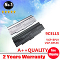 Wholesale New 9 cells Laptop battery for SONY VAIO VGN  Series  VGP-BPL9 VGP-BPL9C VGP-BPS9/B VGP-BPS9B Free shipping