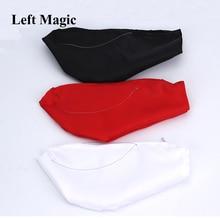 1PC J.H. One-Hand Dove Bag - Right Hand (Black/White/Red) - Magic Tricks Magic Accessories Illusions Stage Fun Gimmick