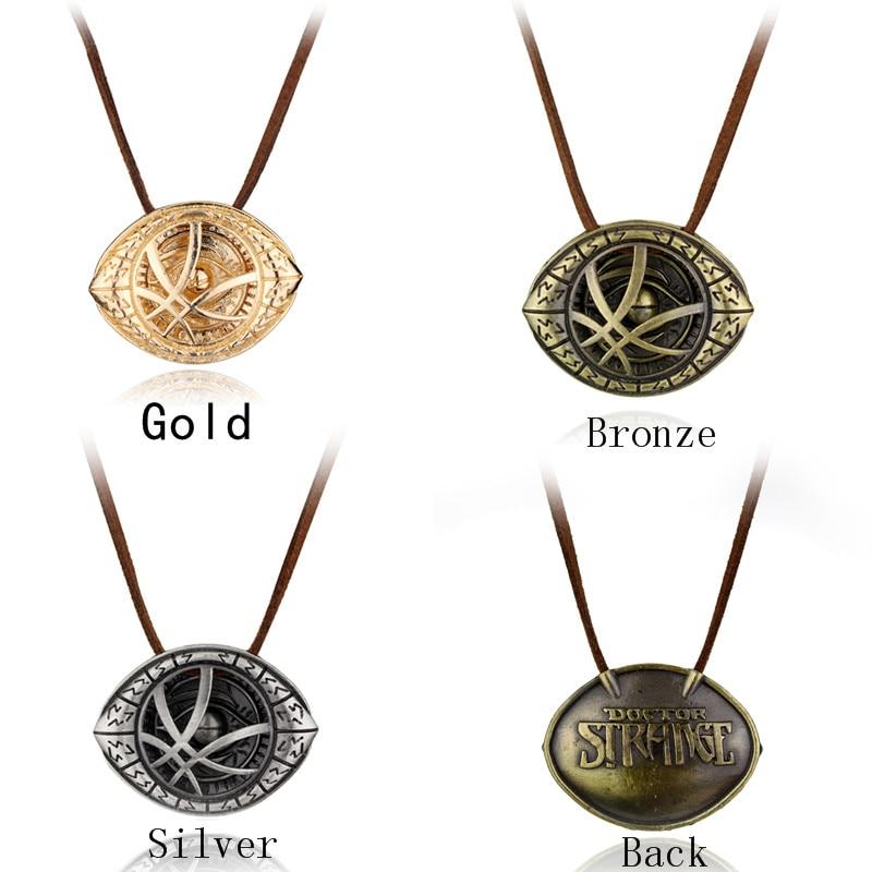 Arzt Seltsame Auge Des Agamotto Halskette Silber Bronze Gold mit ...